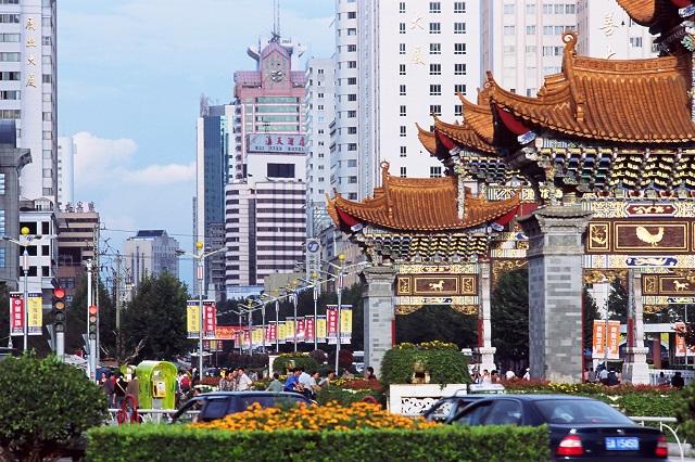 קונמינג, סין