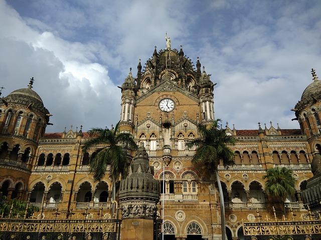 תחנת הרכבת ויקטוריה, מומבאי, טיול להודו