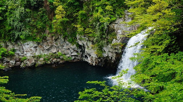 jeju-island-falls-cheonjeyeon-