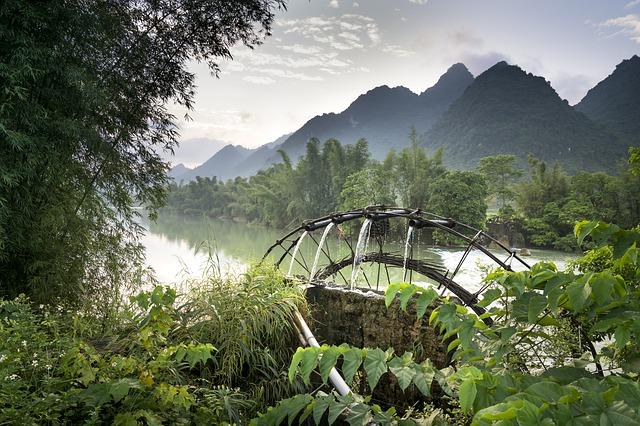 גלגל מים בוייטנאם