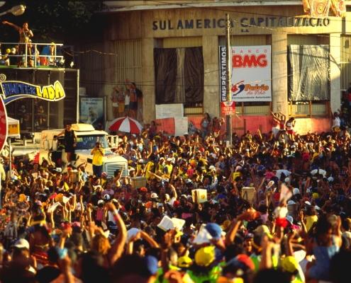 בלוקו בקרנבל בסלבדור, טיול לברזיל