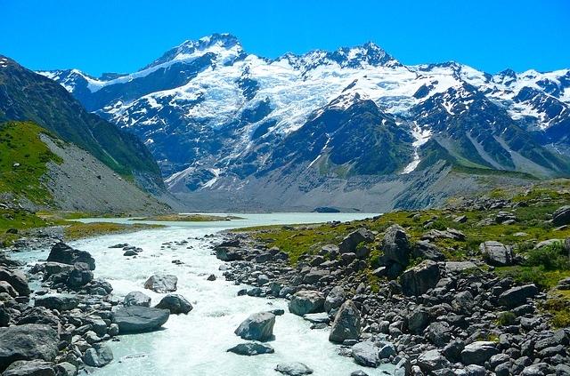 הר קוק, טיול לניו זילנד